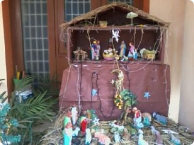 Christmas Cribs – Craft Works, School Projects & Nature Study!