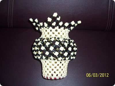 Memories From The Past Making A Flower Vase Using Plastic
