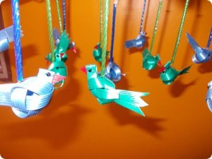Make a Bird or Parrot using Mat Tape/Fish Tape!