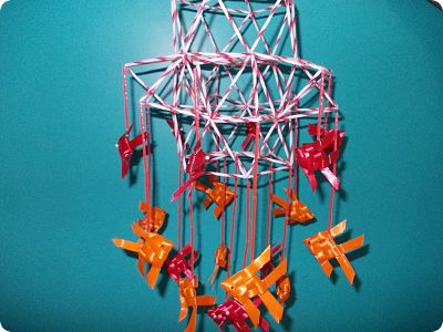 Crafts Using Plastic Straws