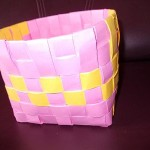 How to weave a Paper Basket?