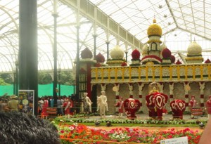 Floral Replica of the Royal Mysore Palace