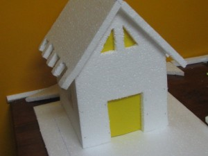 How to make a Thermocol House Model? – Model 1