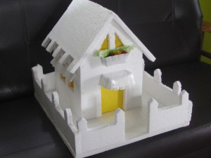 How To Make A Thermocol House Model Model 1