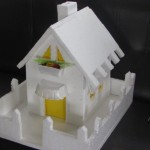 How to make a Thermocol House Model? - Model 1