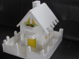 Thermocol House Model