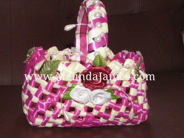 Flower Basket with all the Beads and Roses
