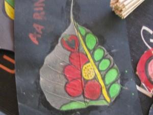 Dry Peepal Leaf